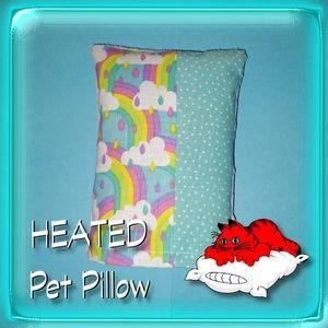 Pet Pillow Heating Pad Cat Warmer ricebag 😺🌈